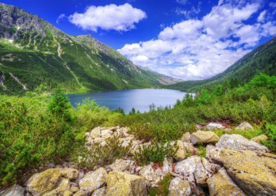"""Sea Eye"" lake in Tatra National Park"